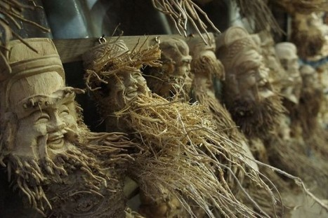Vietnamese Artist Carves Bamboo Roots into Beautiful Statuettes | Arts & Culture by Docent.co | Scoop.it