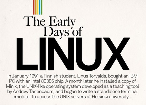 The early days of Linux – join us as we celebrate 100 issues of Linux User & 20 years of Linux | Linux User | Finland | Scoop.it