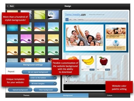Create a website on iPad | Go Go Learning | Scoop.it