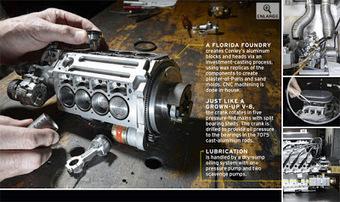 Motor V8 à Escala tem apenas 100cc | Heron | Scoop.it