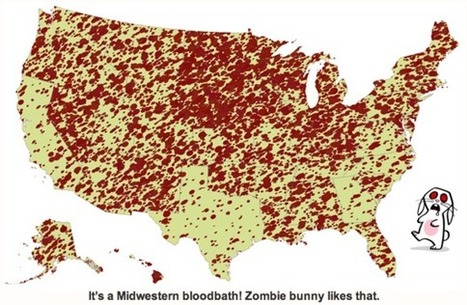 The Zombie States of America: The Best and Worst Places to Survive the Zombie ... - Huffington Post | Zombie Mania | Scoop.it