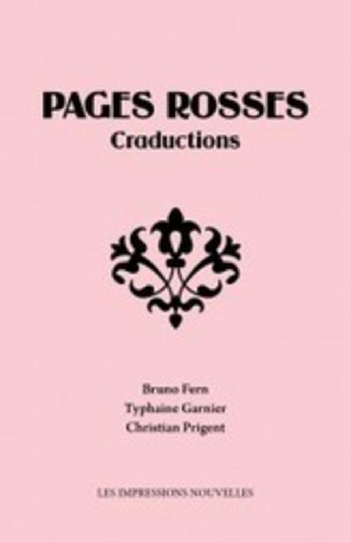 [parution] Pages rosses | Les Impressions Nouvelles | Poezibao | Scoop.it