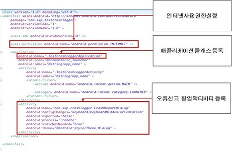 Crash Logger 기술 소개 ( SKP Bug Reporting Platform) | README | html5 | Scoop.it