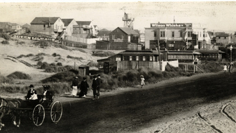 When people lived in abandoned streetcars on San Francisco's beach | Strange days indeed... | Scoop.it