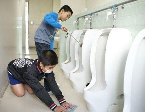 Por qué los estudiantes en Japón tienen que limpiar los baños de sus escuelas - BBC Mundo | Aprendizajes 2.0 | Scoop.it