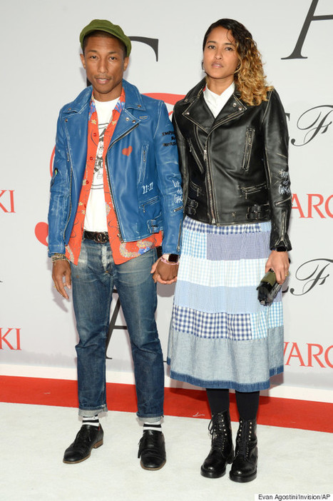 Pharrell Williams Shows Up In Jeans To Be Honored As A Fashion Icon At The ... - Huffington Post | CLOVER ENTERPRISES ''THE ENTERTAINMENT OF CHOICE'' | Scoop.it