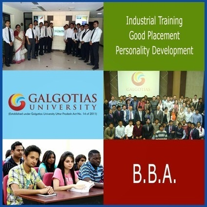 Let's make college interesting!: Why you should do BBA? | Galgotias University | Scoop.it