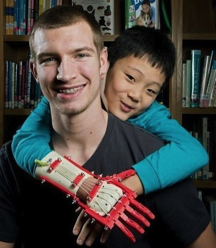 Kansas teen makes hand for a friend using 3D printer | Managing Technology and Talent for Learning & Innovation | Scoop.it