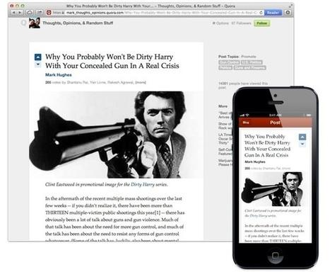 Les nouvelles fonctionnalités de Quora | Sphère des Médias Sociaux | Scoop.it