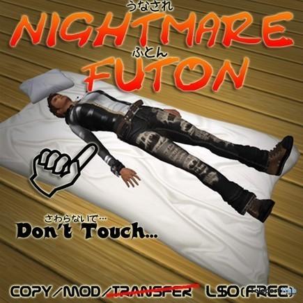 Nightmare Futon by Kabuki | Teleport Hub - Second Life Freebies | Second Life Freebies | Scoop.it