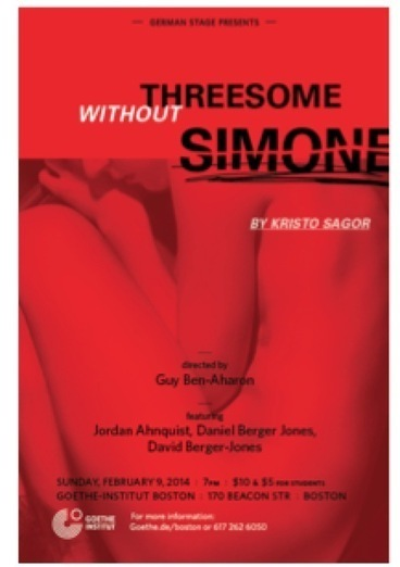 Threesome Without Simone Set for German Stage - Broadway World | Theatre | Scoop.it