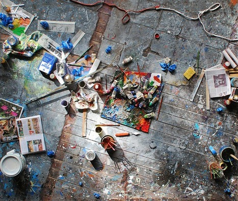 12 Miniature Models Of Famous Artists' Studios... | Art for art's sake... | Scoop.it