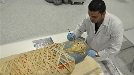 Antiquities Ministry renovates Egyptian Greek-Roman period mummy | Egyptology and Archaeology | Scoop.it