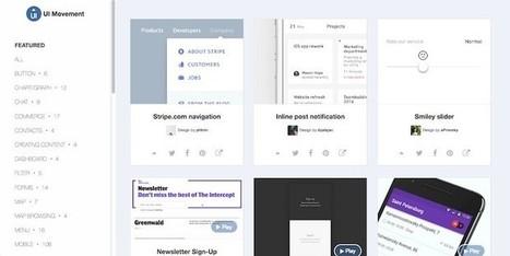 Dos sitios web con ejemplos de diseño de interfaces | El Mundo del Diseño Gráfico | Scoop.it
