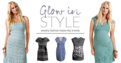 Glow in Style - Weekly Fashion Maternity Trends | Maternity Fashion Magazine - Glamorous Mom's Are Here | Scoop.it