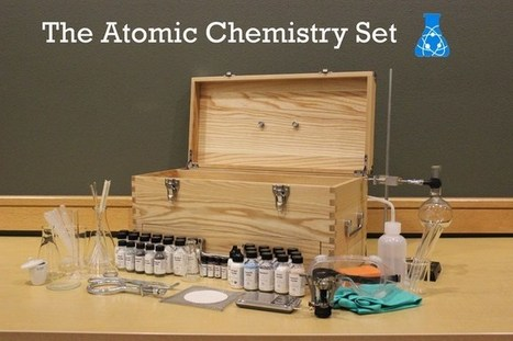 Atomic Chemistry Set - cool Kickstarter project | Heron | Scoop.it
