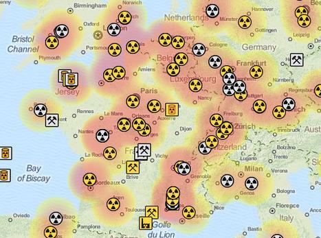 Filières Nucléaires autour du monde | Cartographie collaborative | Scoop.it