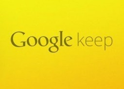 Google Keep productivity app arrives to compete with Evernote | The daily digest | Scoop.it