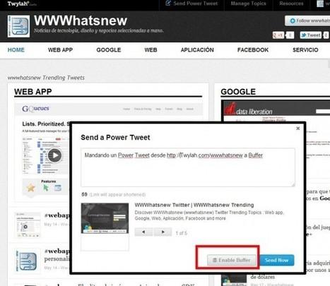 Buffer y Twylah se unen para hacer resaltar a tus Tweets | Herramientas digitales | Scoop.it