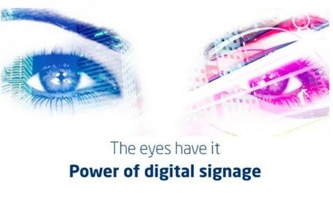 En vitrine, un écran digital est deux fois plus impactant qu'une affiche papier | DOOH | Scoop.it