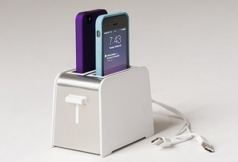 The Foaster is an iPhone charger looks like toaster | Tech Gadgetry | Scoop.it