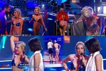 Vidéo : Oops le sein d'Eve Angeli dans Splash (08/02/13) | Radio Planète-Eléa | Scoop.it