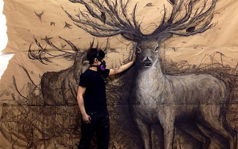 Les animaux en relief de l'artiste Fiona Tang   Coups de coeur !   Scoop.it