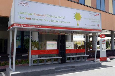 No sweat: Dubai to get 400 solar bus shelters   UberInteresting   Scoop.it