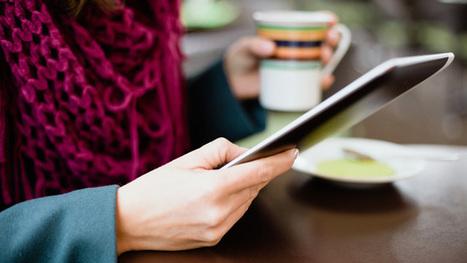 Au resto, la tablette commence à remplacer le serveur   Retail Solutions & Architecture   Scoop.it