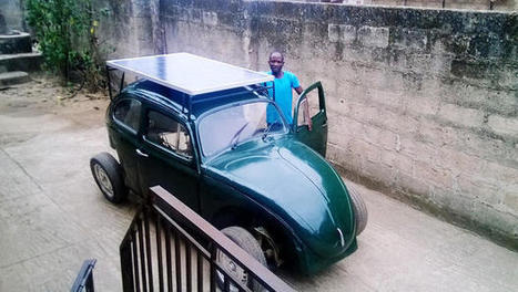 This Nigerian College Student Built a Wind- And Solar-Powered Car From Scraps ~ Fast Company | :: The 4th Era :: | Scoop.it