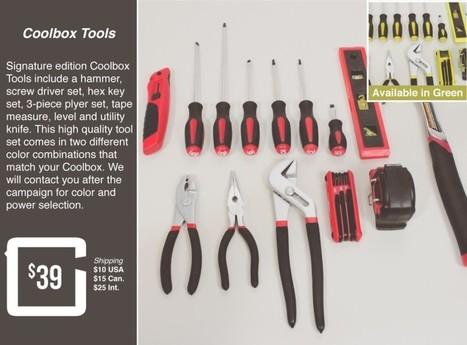 CoolBox : La boite à outils connectée | Le monde du mobile et ses nouveaux usages : news web mobile, apps en m sante  et telemedecine, m learning , e marketing , etc | Scoop.it