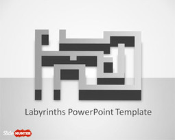 Free Labyrinth PowerPoint Template   Financial Planning   Scoop.it