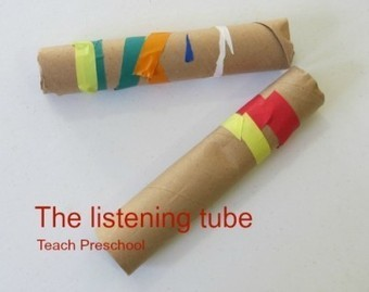 Let's listen with a listening tube | Teach Preschool | Scoop.it