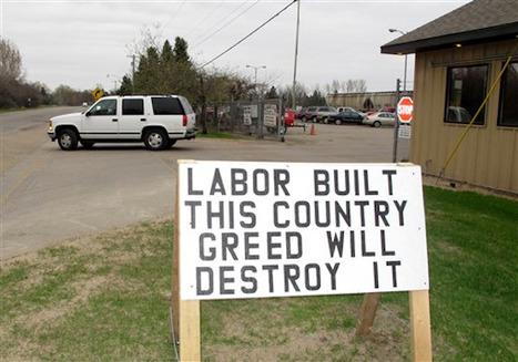 Union Power Wanes in Michigan | DidYouCheckFirst | Scoop.it
