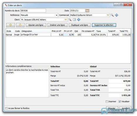 OpenConcerto : un logiciel de gestion pour les entreprises | Time to Learn | Scoop.it