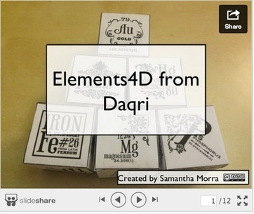 Elements4D - Exploring Chemistry with Augmented Reality | Edtech PK-12 | Scoop.it