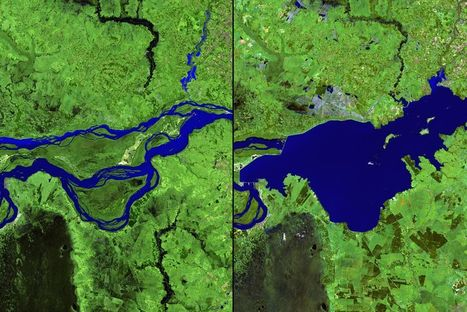 15 before-and-after images that show how we're transforming the planet | Geography Education | Scoop.it