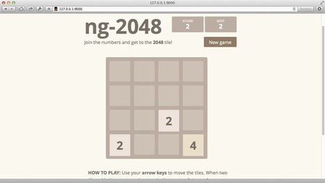 Building the 2048 game in AngularJS | Angular.js and Google Dart | Scoop.it