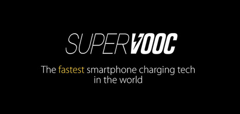 Super VOOC, the fastest smartphone charging tech in the world => 2 500 mAh full charge in 15 min   Web of Objects - Connected Objects - Internet of Things - Wearables - Internet des Objets - Objets connectés   Scoop.it
