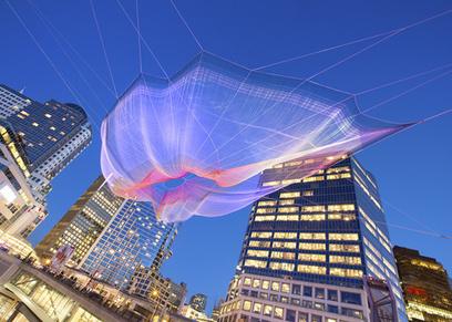 Sculpture Lets the Public Paint the Sky | Radio Show Contents | Scoop.it