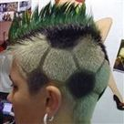12 Most Awesome Hair Tattoos | Strange days indeed... | Scoop.it