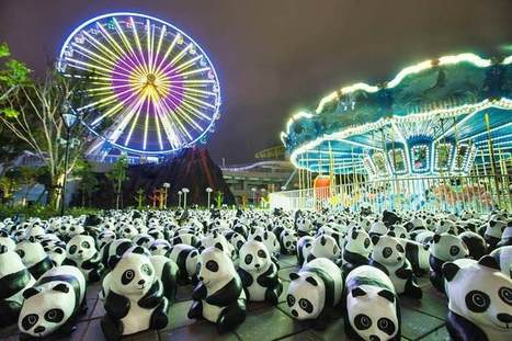 Un artiste français crée 1600 sculptures pour les 1600 pandas encore vivants | streetmarketing | Scoop.it
