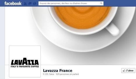 Lavazza France débarque sur Facebook | CommunityManagementActus | Scoop.it