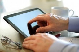 58 % des Français ne quittent plus leur tablette | Outils Collaborateurs | Scoop.it