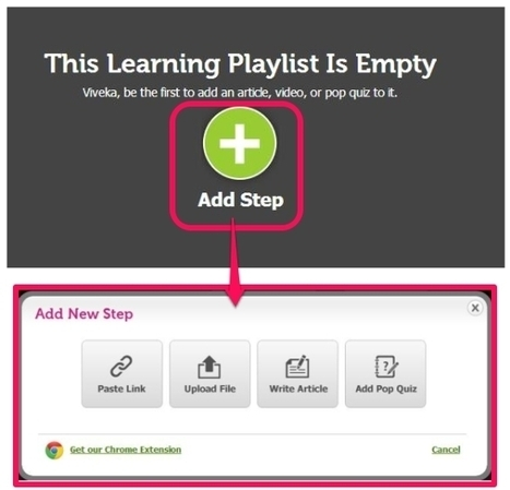 Create Online Courses By Using YouTube Videos, Articles, URL : LessonPaths | Time to Learn | Scoop.it