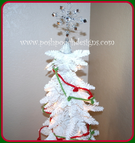Bobble Christmas Tree Garland | Crochet | Scoop.it