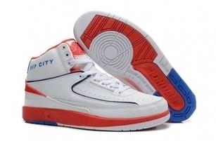 Cheap Nike Jordan 2 White Red Blue For Sale Online - SportsYTB.Com | Cheap Nike Air Jordan Shoes,Cheap Nike Sneakers | Scoop.it