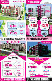 Apartments at most low prices - Check it before it's all over | Any Complaints, reviews, Fraud about dreamz infra | Scoop.it