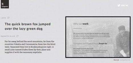 Bien choisir ses associations de polices de caractères - Korben | Au fil du Web | Scoop.it