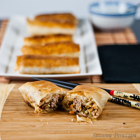 Pork Spring Rolls - a learning experience | The Man With The Golden Tongs Goes All Out On Health | Scoop.it
